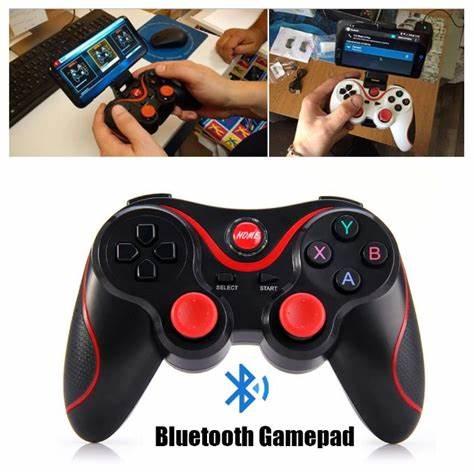 Havana T-3 Bluetooth Joystick IOS Android GamePad Support De Téléphone