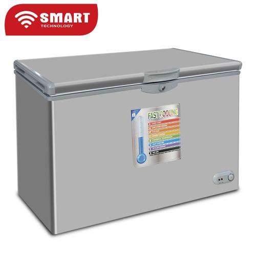 CONGELATEUR SMART TECHNOLOGY HORIZONTAL 550 LITRES SILVER STCC-550