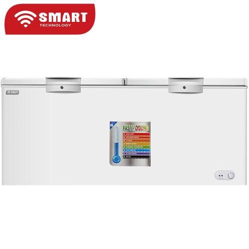 CONGELATEUR SMART TECHNOLOGY HORIZONTAL 640 LITRES STCC-640 VITRE